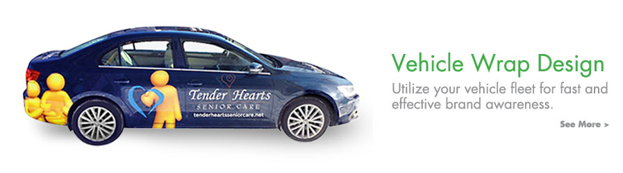 We provide vehicle wrap design and production in Sheboygan.