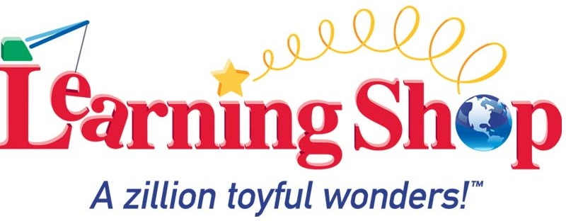 Logo design and production for learning shop toy store.