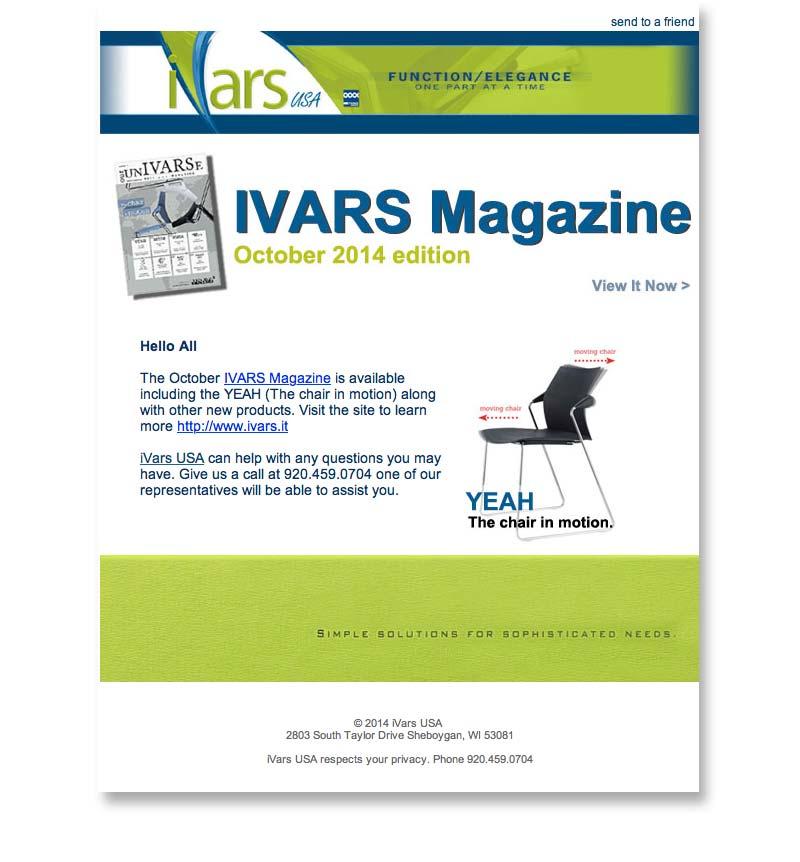 email iVars Mag